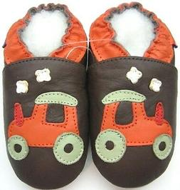 tractor brown 12 18 m soft sole