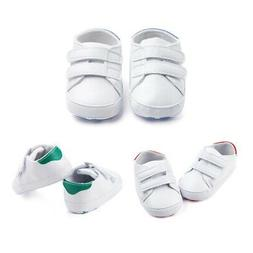 US Baby Boy Girl Solid Anti-Slip Shoes Casual Sneakers Soft