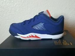 v 5 retro low knicks td royal