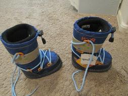 Walt Disney Productions Toddler Snow Boots Winnie The Pooh B