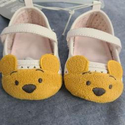 Disney Winnie the Pooh Classic Infant Baby Shoes Size 6-12M