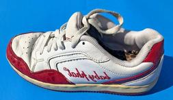 Women's Baby Phat Red White Shoes Fashion Sneakers Size 8.5